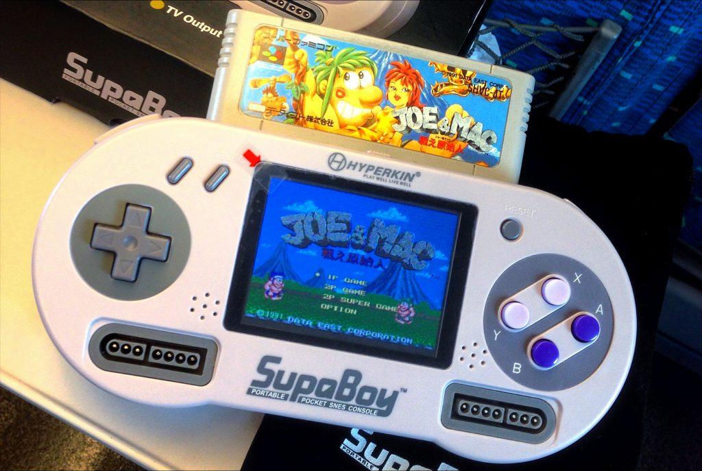 Super Nintendo Portatil