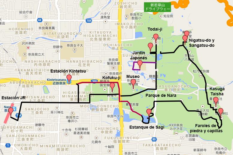 Itinerario por Nara